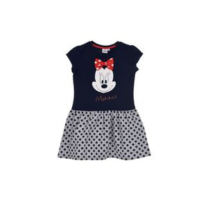 ROBE MINNIE Robe - Enfant fille - Bleu marine