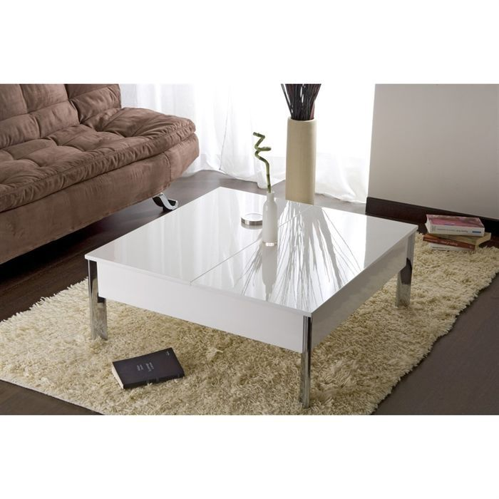 table basse up down san fransisco achat vente table basse table basse up down sf blanc. Black Bedroom Furniture Sets. Home Design Ideas