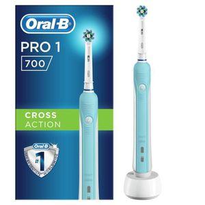 BROSSE A DENTS ÉLEC Oral-B PRO 700 Cross Action Brosse à dents électri