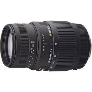OBJECTIF SIGMA 70-300mm F4-5.6 DG Macro CANON - Pour appare