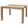 MILES Table à manger carrée 2 à 4 personnes style