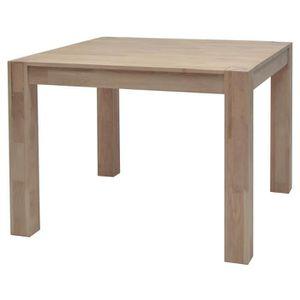 TABLE À MANGER SEULE MILES Table à manger carrée 2 à 4 personnes style
