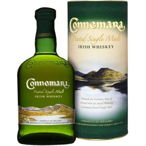 WHISKY BOURBON SCOTCH Connemara 70cl Single Malt Tourbé Irlandais