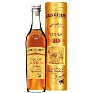 DIGESTIF EAU DE VIE Jules Gautret Cognac 10 ans 70 cl