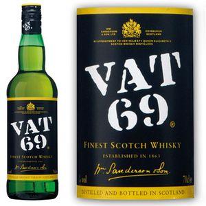 WHISKY BOURBON SCOTCH Vat 69 70cl