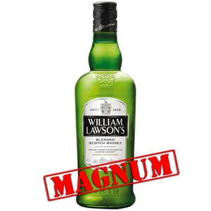WHISKY BOURBON SCOTCH William Lawson's - Whisky - Magnum 1,5L - 40°