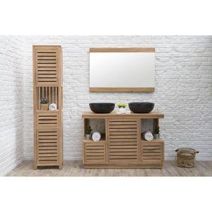 Meuble salle de bain vasque 120 - Achat / Vente pas cher