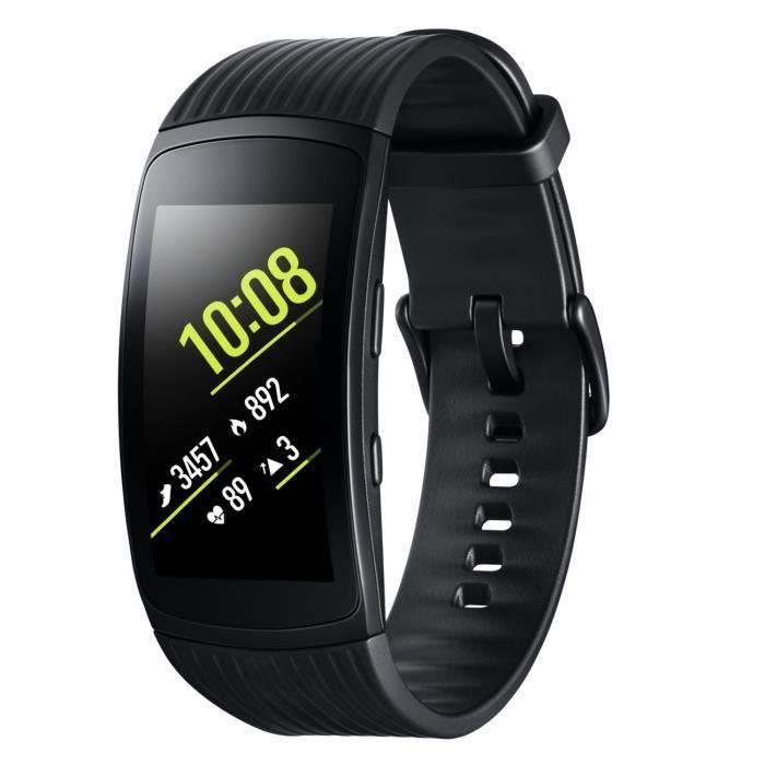 BRACELET MONTRE CONNEC. Samsung Gear Fit 2 Pro Small Noir