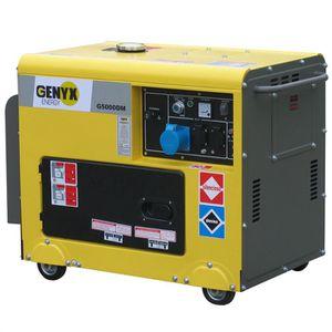 GROUPE ÉLECTROGÈNE Groupe électrogène GENYX G5000DM diesel monophasé