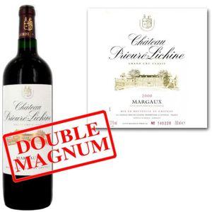 VIN ROUGE Double Magnum Château Prieuré Lichine Margaux 2010