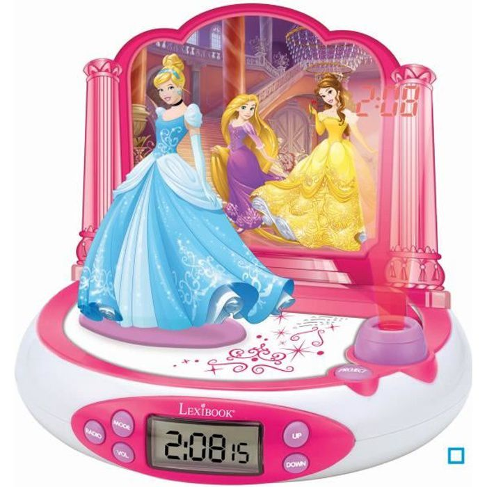 disney princesses radio r veil enfant avec projections d. Black Bedroom Furniture Sets. Home Design Ideas