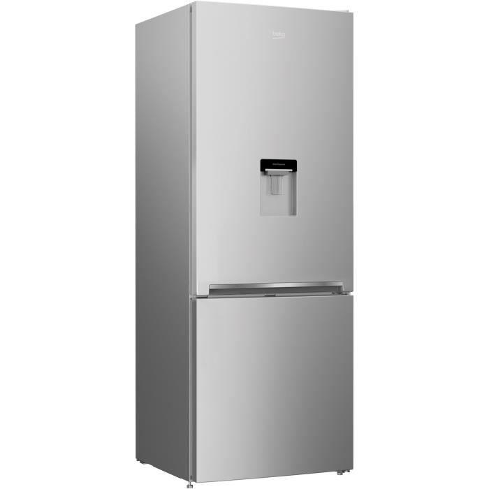 RÉFRIGÉRATEUR CLASSIQUE BEKO CRCSE460K20DS-Réfrigérateur combiné-460 L (33