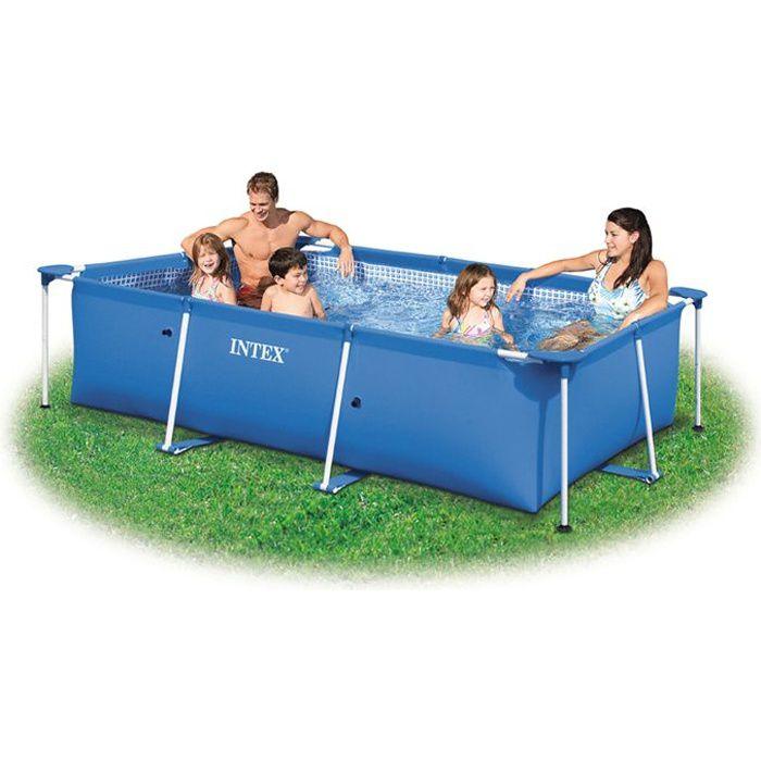 piscine piscinette metal frame intex tubulaire 23 m - Liner Pour Piscine Intex Tubulaire