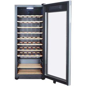 cave a vin 120 bouteilles achat vente cave a vin 120 bouteilles pas cher cdiscount. Black Bedroom Furniture Sets. Home Design Ideas