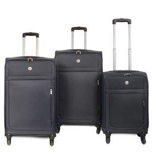 SET DE VALISES KINSTON Set de 3 valises Prague - 4 roues multidir
