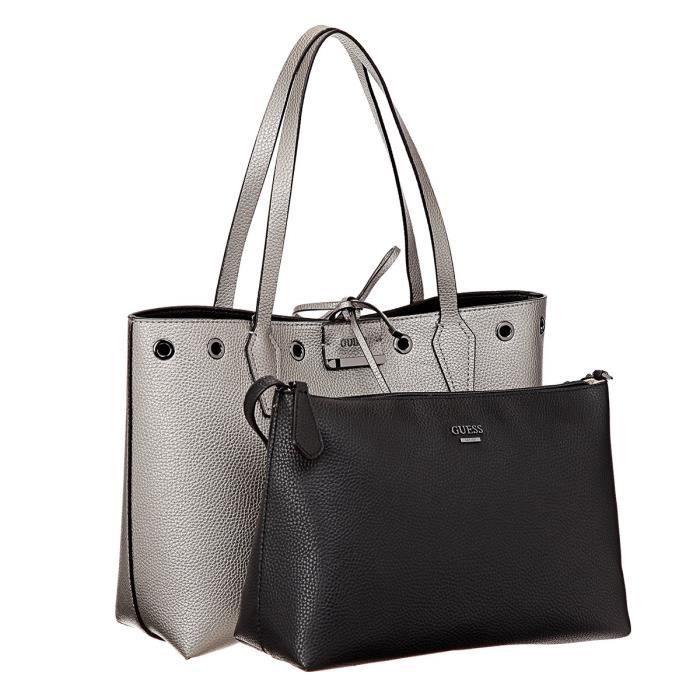 sac a main femme guess gris achat vente sac a main femme guess gris pas cher soldes d s. Black Bedroom Furniture Sets. Home Design Ideas