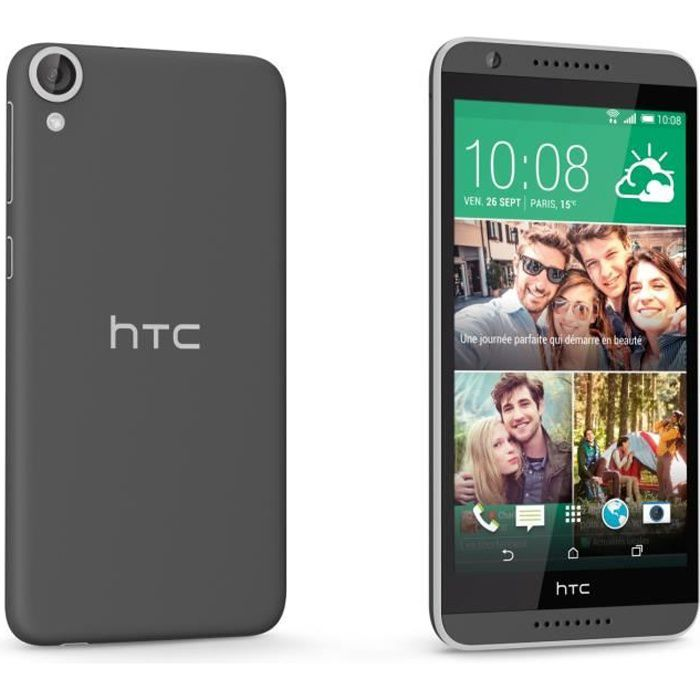 htc desire 820 gris achat smartphone pas cher avis et. Black Bedroom Furniture Sets. Home Design Ideas