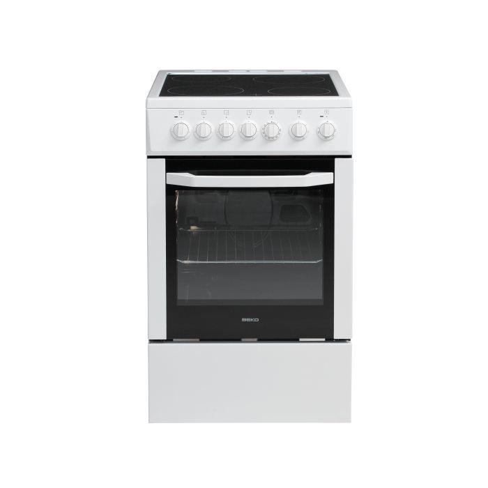 BEKO CSS57100GW - Cuisinière 50x60 - Achat / Vente cuisinière ...