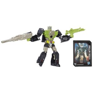 FIGURINE - PERSONNAGE TRANSFORMERS Generation Deluxe Hardhead 15cm