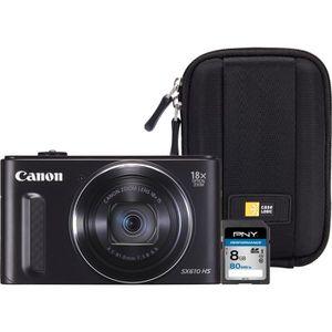 APPAREIL PHOTO COMPACT Canon PowerShot SX610 HS + Carte mémoire SDHC 8 Go