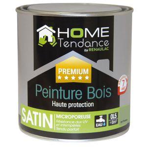 PEINTURE - VERNIS Peinture bois haute protection 0,5 L vert provence
