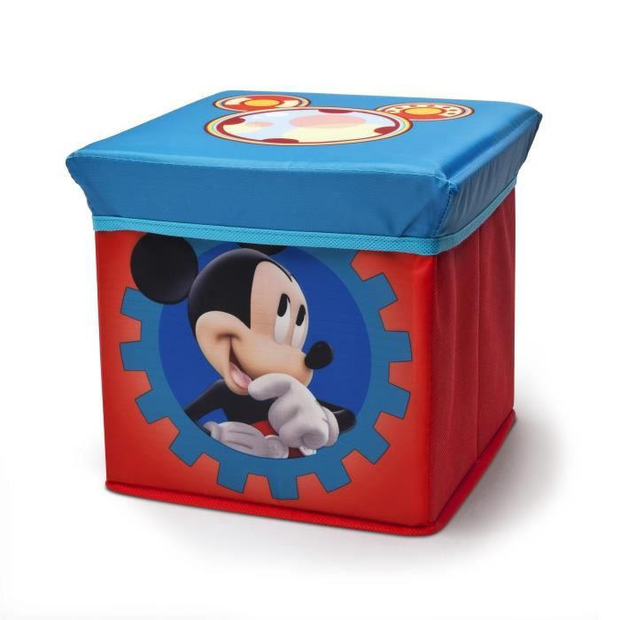 Coffre a jouet mickey disney mickey mouse club house - Coffre a jouet mickey ...