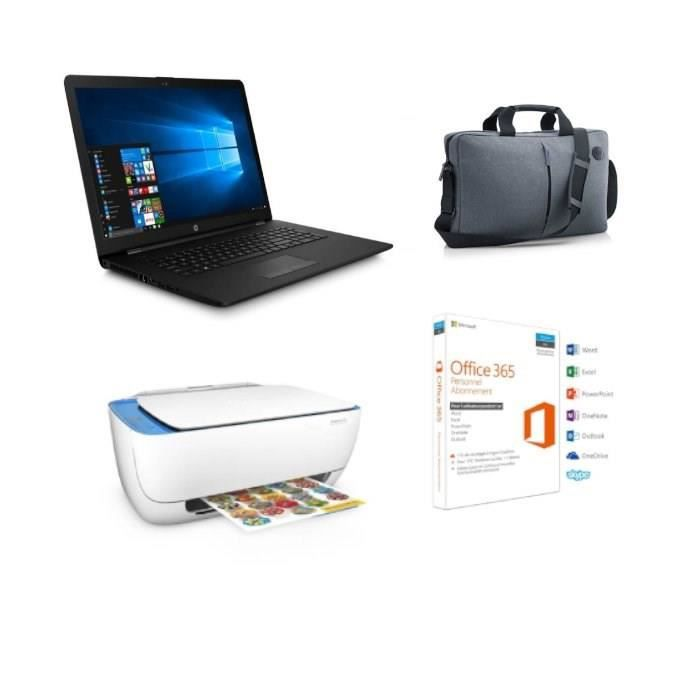 2c2662fe0941ae ... Office 365 Perso + Sacoche offerts. ORDINATEUR PORTABLE Pack PC Portable  HP 17.3