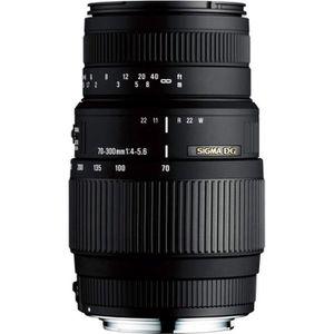 OBJECTIF SIGMA 70-300mm F4-5.6 DG Macro NIKON - Pour appare