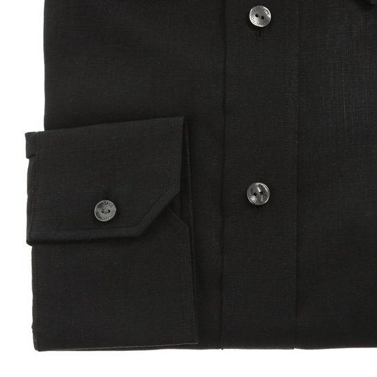 VERSACE COLLECTION Chemise Homme Noir - Achat   Vente chemisier - blouse -  Soldes  dès le 9 janvier ! Cdiscount e97eca55769