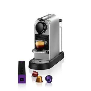 MACHINE À CAFÉ KRUPS NESPRESSO Citiz YY2733FD - Argent