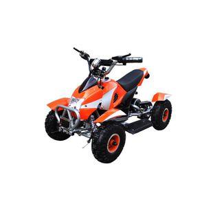 QUAD Pocket Quad Electrique 500W Orange et Argent - Qua