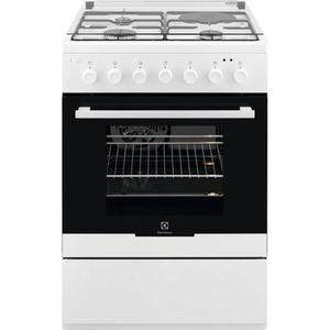 CUISINIÈRE - PIANO ELECTROLUX EKM60300OW-Cuisinière table mixte gaz /