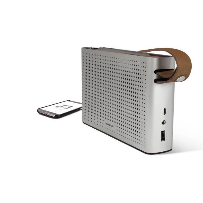Schneider Sc550spk Enceinte Bluetooth Radio Groove Hd
