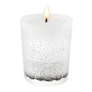 BOUGIE DÉCORATIVE EBOUGIE Bougie parfumée Fleurs noir et blanches 14