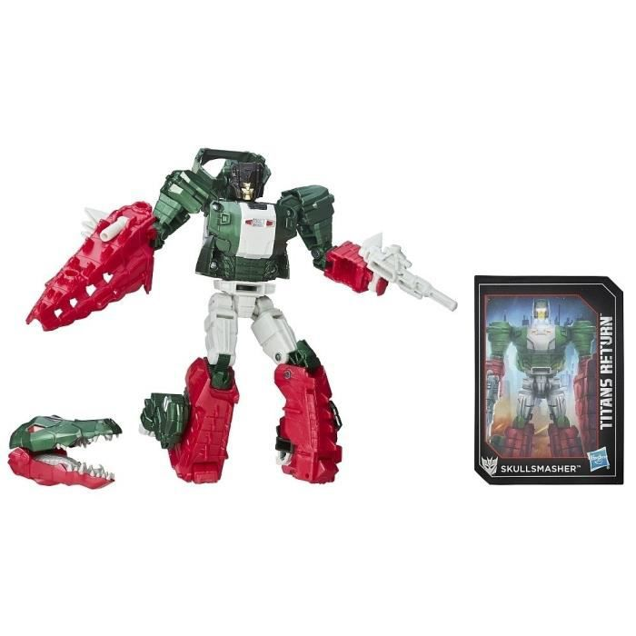 FIGURINE - PERSONNAGE TRANSFORMERS Generations - GRAX et SKULLSMASHER -