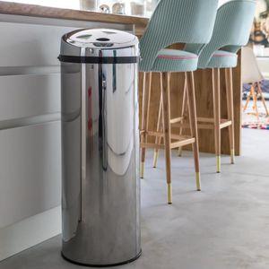 Poubelle brabantia touch bin achat vente poubelle - Kitchen move poubelle de cuisine automatique l ...