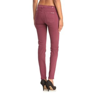 ... JEANS 7 FOR ALL MANKIND Jean Skinny Second Skin Femme - 42793799e171