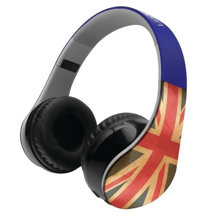 LEXIBOOK - Design UK - Casque Audio Enfant