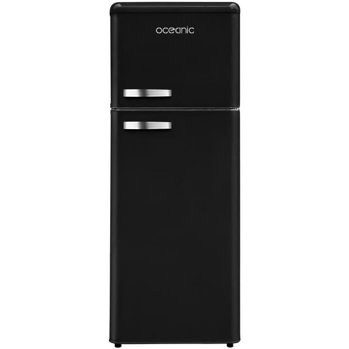frigo noir achat vente frigo noir pas cher cdiscount. Black Bedroom Furniture Sets. Home Design Ideas