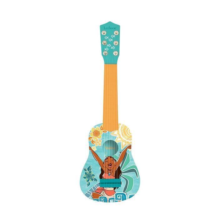 INSTRUMENT DE MUSIQUE LEXIBOOK - VAIANA - Guitare Acoustique Enfant - Ha