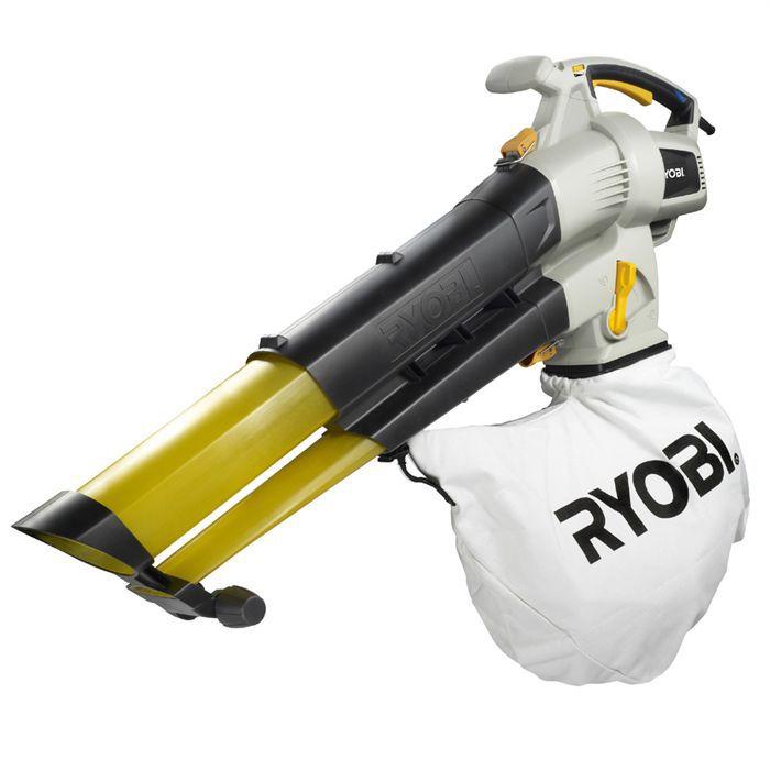 Ryobi souffleur aspirateur rbv3000vp achat vente aspirateur souffleur - Aspirateur broyeur souffleur electrique ...