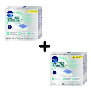 PIÈCE LAVAGE-SÉCHAGE  PACK WPRO TAB100 - 2 X 24 tablettes tout en 1 pour