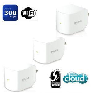 POINT D'ACCÈS D-Link Répéteur WiFi 300mbps DAP-1320 x3