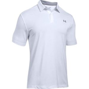 UNDER ARMOUR Polo Coolswitch Ice Pick Polo Blanc Homme