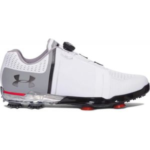 CHAUSSURES DE GOLF UNDER ARMOUR Chaussures Tour Spieth One Boa Blanc,