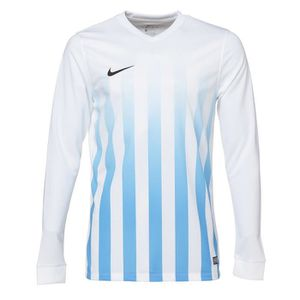 NIKE Maillot Manches longues Striped Division II - Blanc