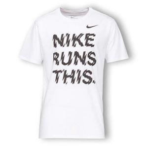 MAILLOT DE RUNNING NIKE T-shirt Running Run Homme RNG