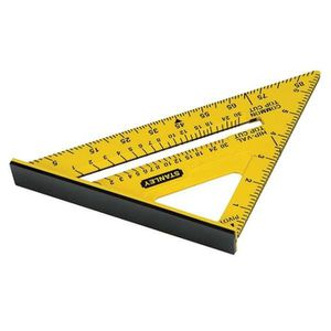 STANLEY Equerre double couleur Quick Square - 175mm