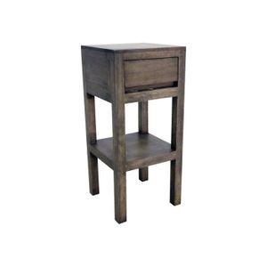 tablette de chevet achat vente pas cher. Black Bedroom Furniture Sets. Home Design Ideas