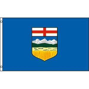 DRAPEAU - BANDEROLE Drapeau Alberta 150x90cm - canadien Haute qualité